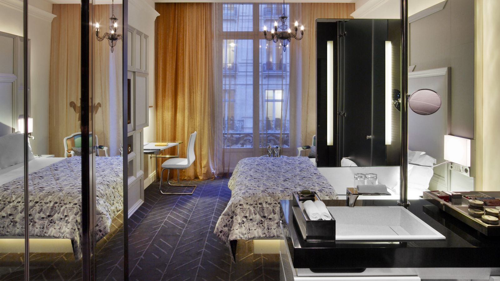 Chambre Wonderful hôtel paris