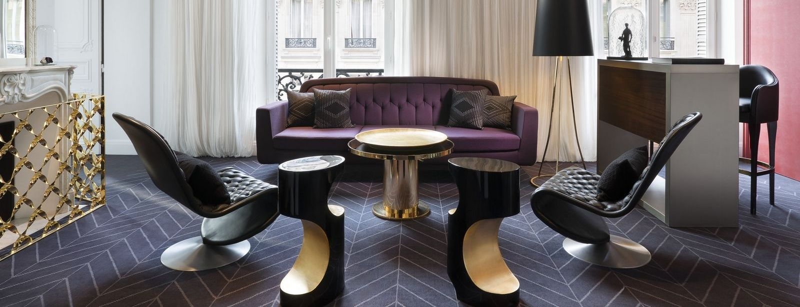 Extreme WOW Suite in W Paris-Opera